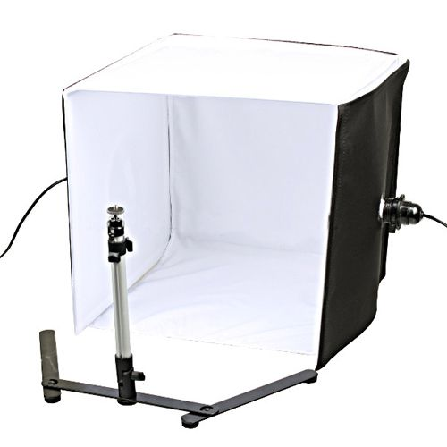 Set for subject photography, light cube 60 * 60cm + 220W lamp