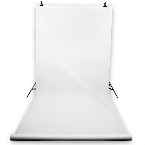 White vinyl background for photo and video (polypropylene) 2,75х5м
