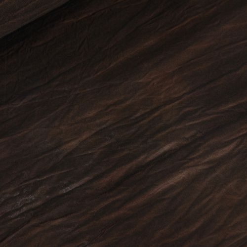 Fabric brown background with F & V divorces 3 * 6m
