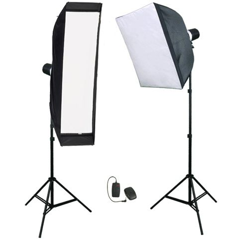A set of studio light F & V 150X2 VM